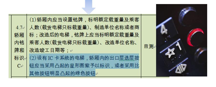 桂林电梯的刷卡机都不符合要求了