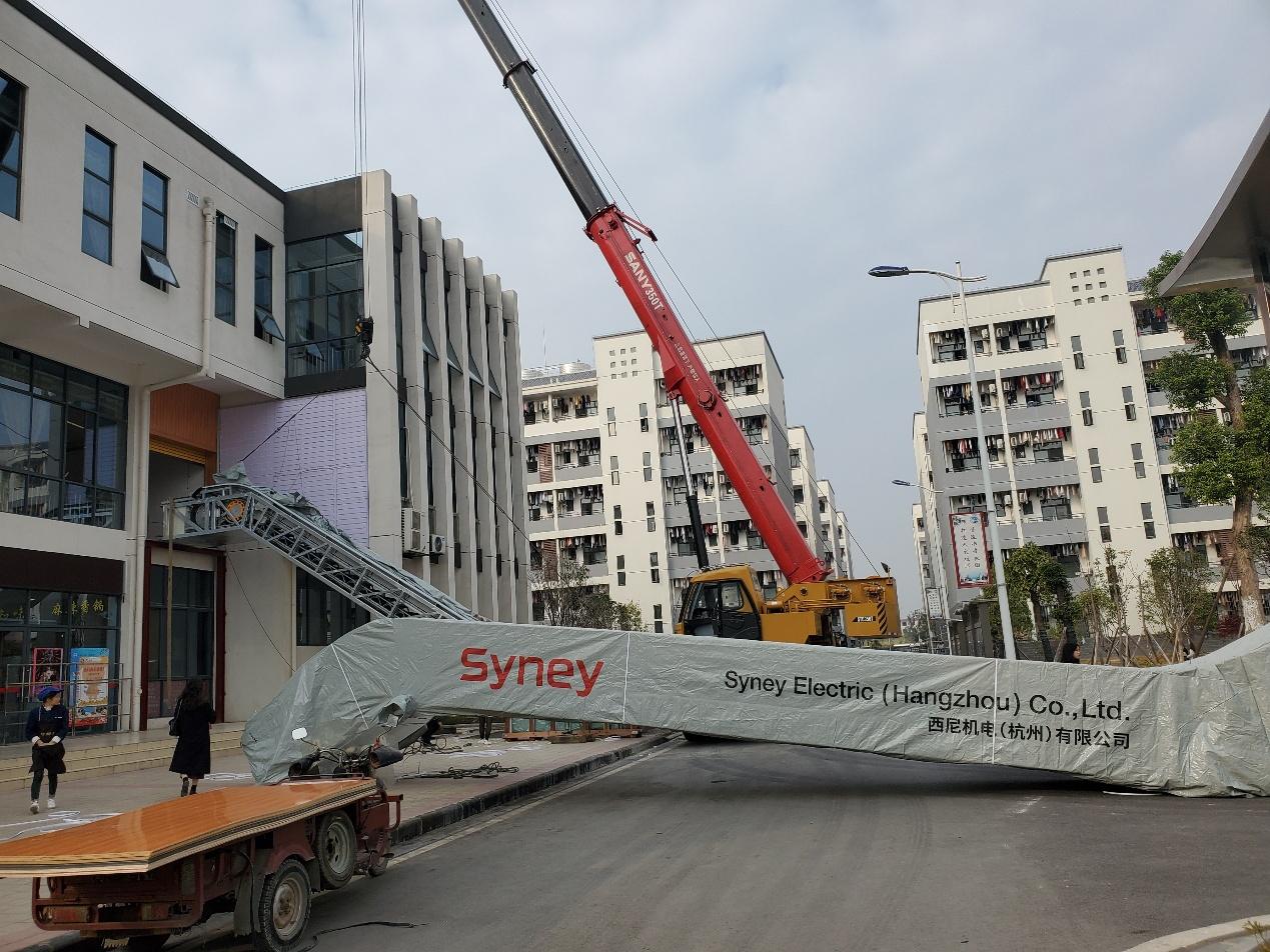 信赖,往往能创造出最佳的境界――论土建技术在扶梯加装的重要性